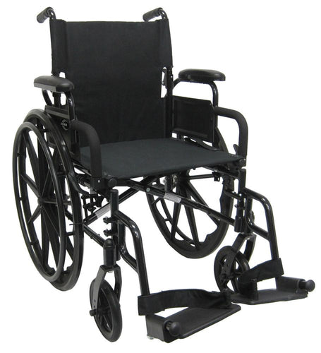 Ultra Lightweight Wheelchairs - Karman 802-DY Ultra Lightweight Wheelchair With Flip Back Armrest