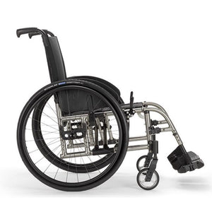 Ultra Lightweight Wheelchairs - Ki Mobility Catalyst 5 Ti  Ultra-lightweight Folding Wheelchair