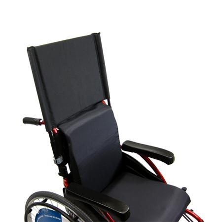 Wheelchair Accessories - Karman Backrest Extension Detachable And Height Adjustable With Clamp 7/8