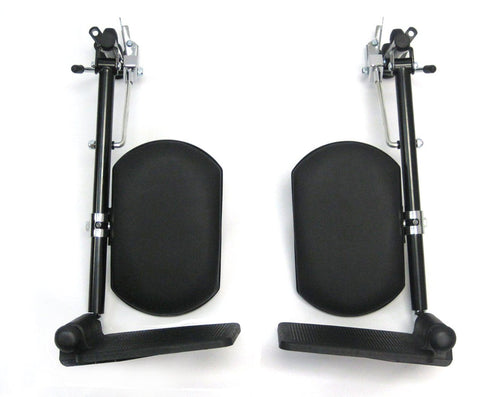 Wheelchair Accessories - Karman Elevating Legrest Universal E&J Style Pair