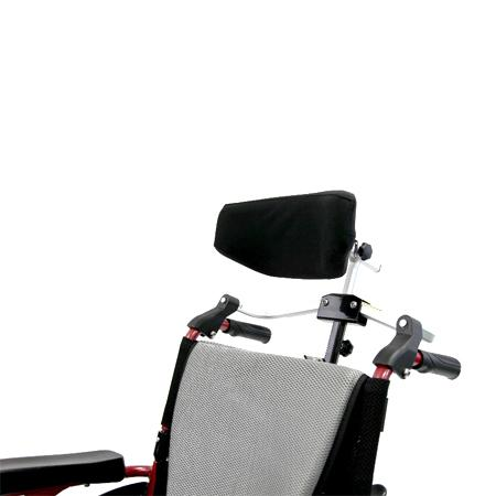 Wheelchair Accessories - Karman Foldable Rigidfy Headrest For 7/8