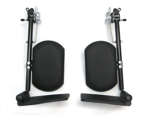 Wheelchair Accessories - Karman Universal Elevating Legrest For Manual Wheelchairs