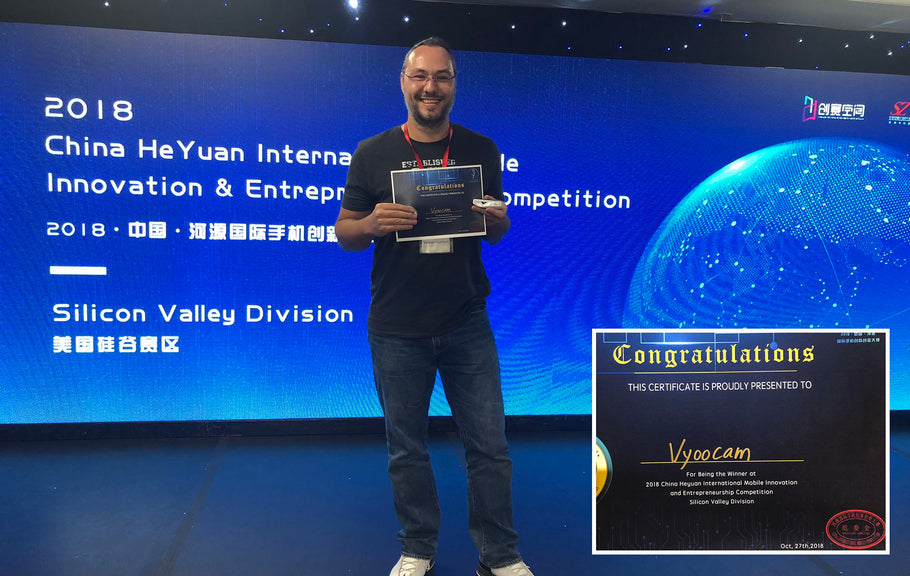 Vyoocam won the China Mobile Innovation and Entrepreneurship Competition in Silicon Valley