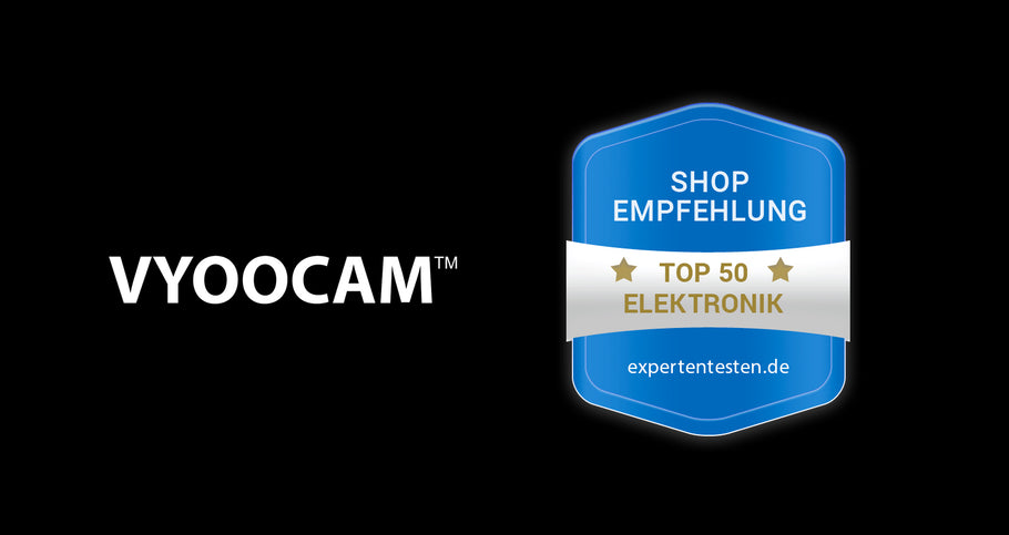 Vyoocam among The Top 50 online tech-stores in Germany.