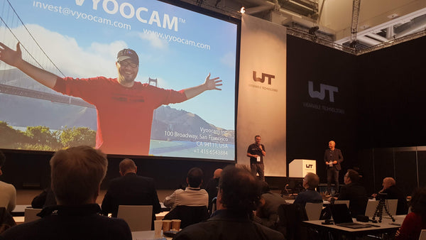 Vyoocam Selected as a Best  wearable device by Wearable Technologies EU 2019