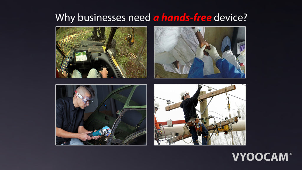 Businesses Need Hands-Free Camera like Vyoocam