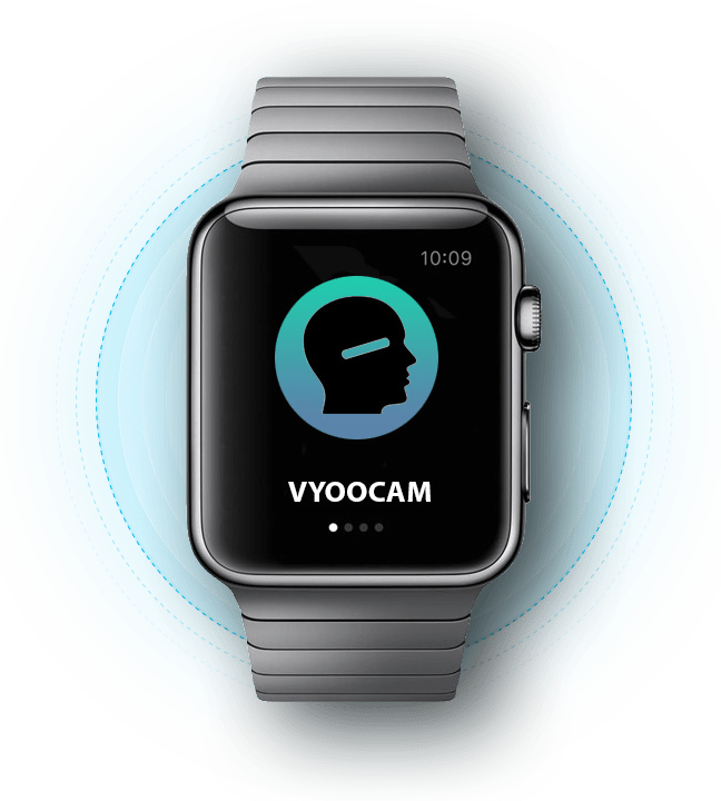 Vyoocam Running on an Apple Watch