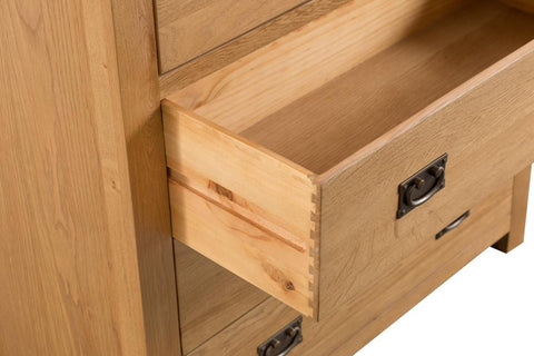 Concepts Tucson Oak 2 Over 3 Chest Chest of Drawers