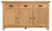 Concepts Tucson Oak 3 Door Sideboard