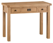 Concepts Tucson Oak 3 Drawer Dressing Table