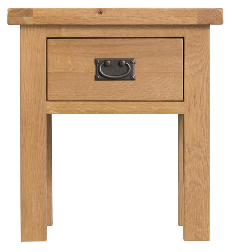 Concepts Tucson OakLamp Table with Drawer