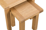 Concepts Tucson Oak Nest of 2 Tables