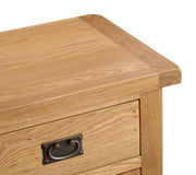 Concepts Tucson Oak Small 2 Door 1 Drawer Sideboard
