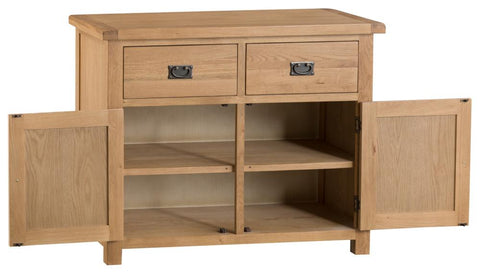 Concepts Tucson Oak 2 Door 2 Drawer Sideboard