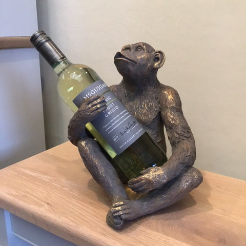 Concepts Monkey Wine Bottle Holder (Wine not included)