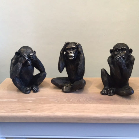 Concepts See no Evil, Hear no Evil, Speak no Evil Monkeys