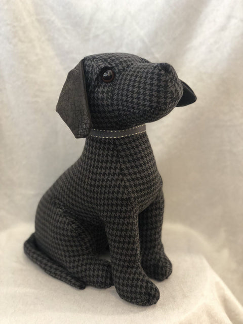 Dora Designs Baylee The Black Lab Doorstop