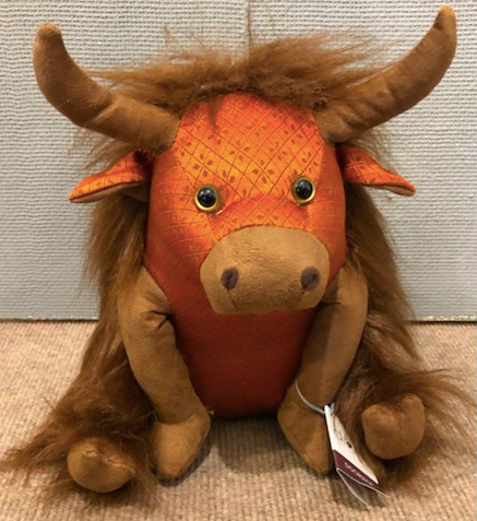 Dora Designs Catriona Senior Highland Cow Doorstop