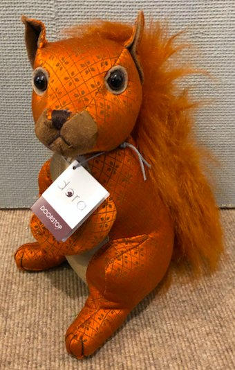 Dora Designs Natasha Squirrel Doorstop