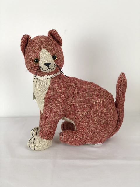 Dora Designs Red Tabby Cat Doorstop