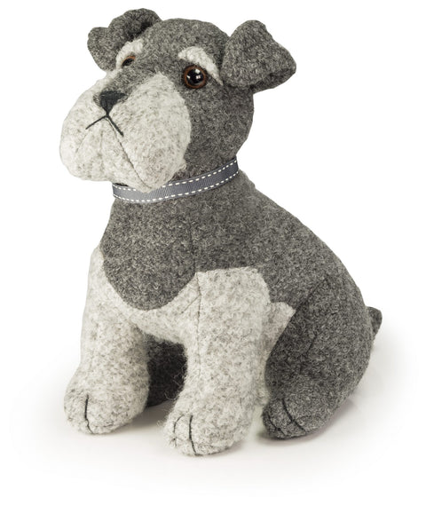 Dora Designs Sugar Bear Schnauzer Doorstop