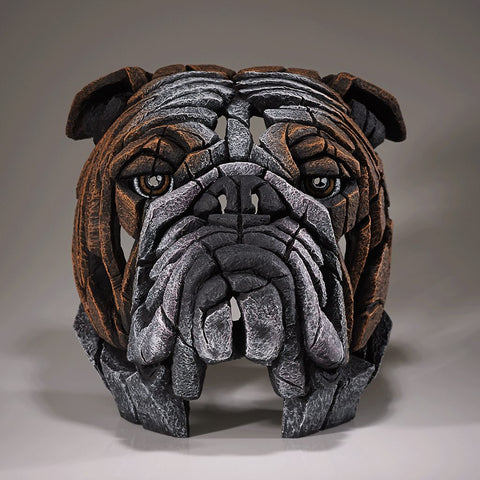 Edge Red Bulldog Bust