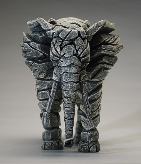 Edge Elephant Figure White