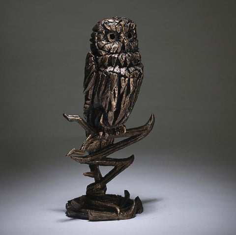 Edge Golden Owl Figure