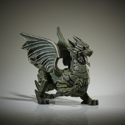 Edge Green Dragon Figure