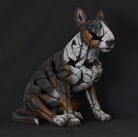 Edge Tri Colour Bull Terrier Figure