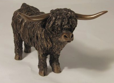 Frith Highland Cow Standing - Medium