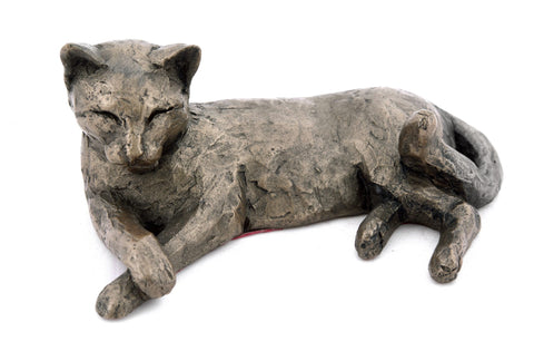 Frith Tinkabelle Lying Cat Figure
