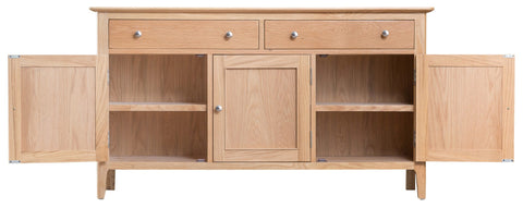 GoodWood by Concepts - Helsinki 3 Door Oak Sideboard