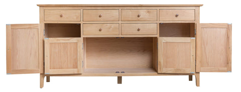 GoodWood by Concepts - Helsinki 4 Door Oak Sideboard