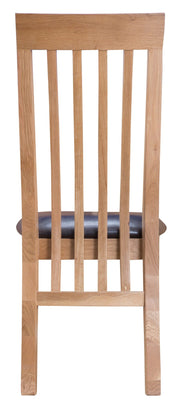 GoodWood by Concepts - Helsinki Slat Back PU Chair - Various Colours