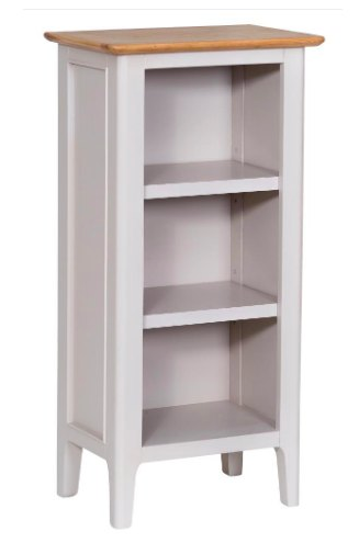 GoodWood by Concepts Helsinki Painted Small Narrow Bookcase