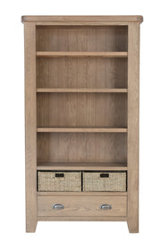 Concepts Hatton Oak Large Bookcase