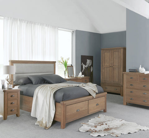 Concepts Hatton Oak Wooden 2 Over 3 Chest Of Drawers