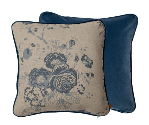 Neptune Camilla Cushion - Isla Kingfisher & Emma Teal