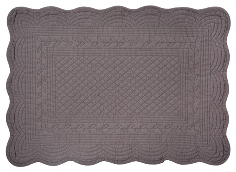 Neptune Emily Quilted Cotton Placemats - Set of 6 - Various Colours