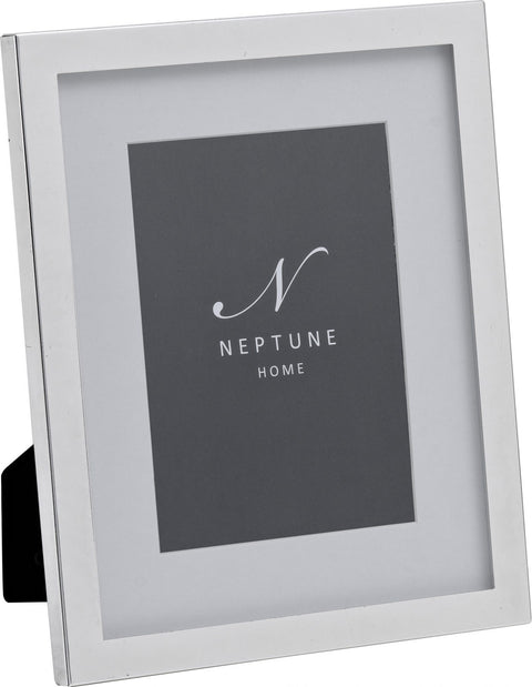 Neptune Newton Silver Plated Photo Frame - Various Sizes
