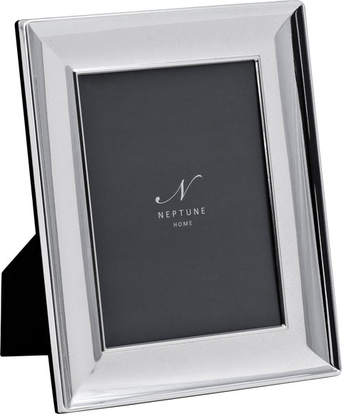 Neptune Porter Silver Plated Photo Frame - Various Sizes