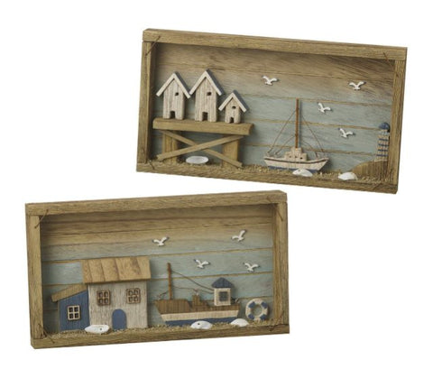 Parlane Seaside Wall Art - Set Of 2