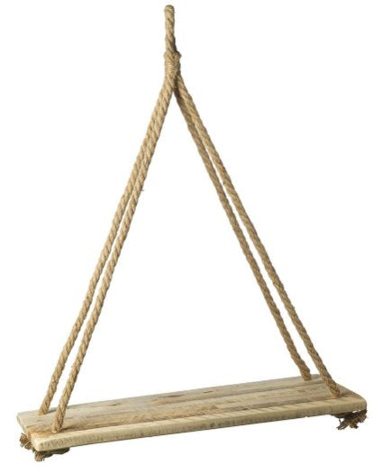 Parlane Wooden Hanging Shelf