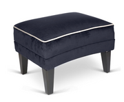 Romeo by Concepts Velvet Footstool - Various Options