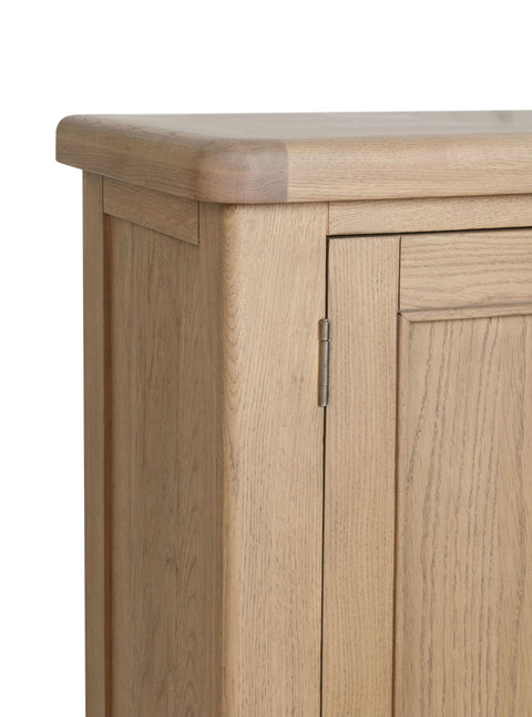 Concepts Hatton Oak Shoe Cupboard