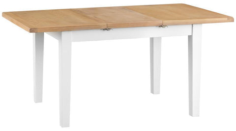 GoodWood by Concepts - Turner White Extending Butterfly Dining Table - Various Sizes