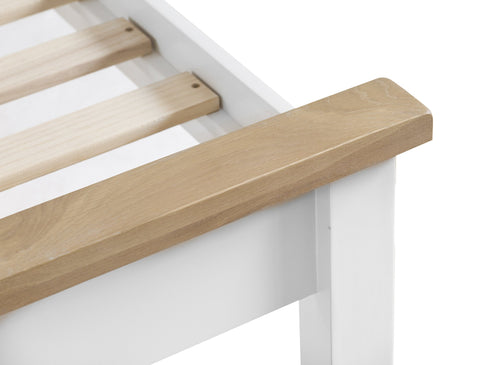 GoodWood by Concepts - Turner White Bed Frame - Various Sizes
