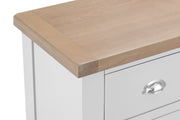 GoodWood by Concepts - Turner White 4 Drawer Narrow Chest Of Drawers