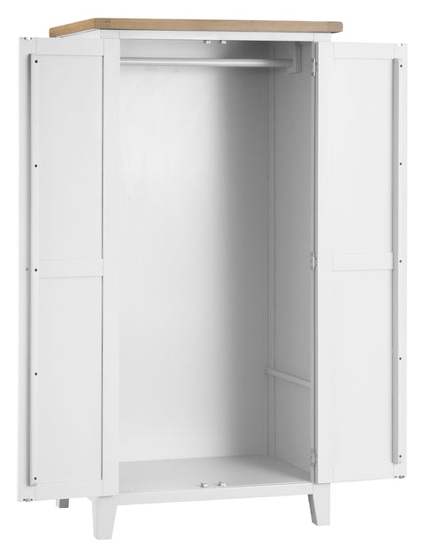 GoodWood by Concepts - Turner White Full Hanging Wardrobe